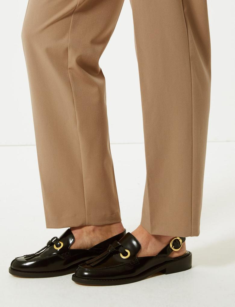 Relaxed Straight Leg Pantolon