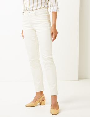 Relaxed Slim Leg Jean Pantolon