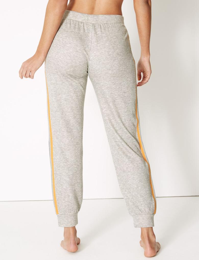 Yanları Çizgili Pijama Altı
