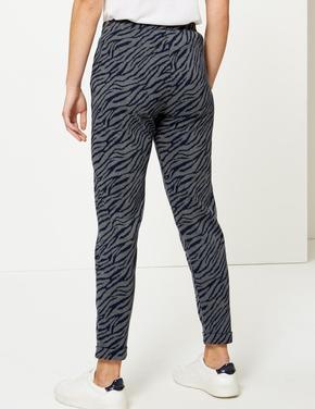Zebra Desenli Pantolon