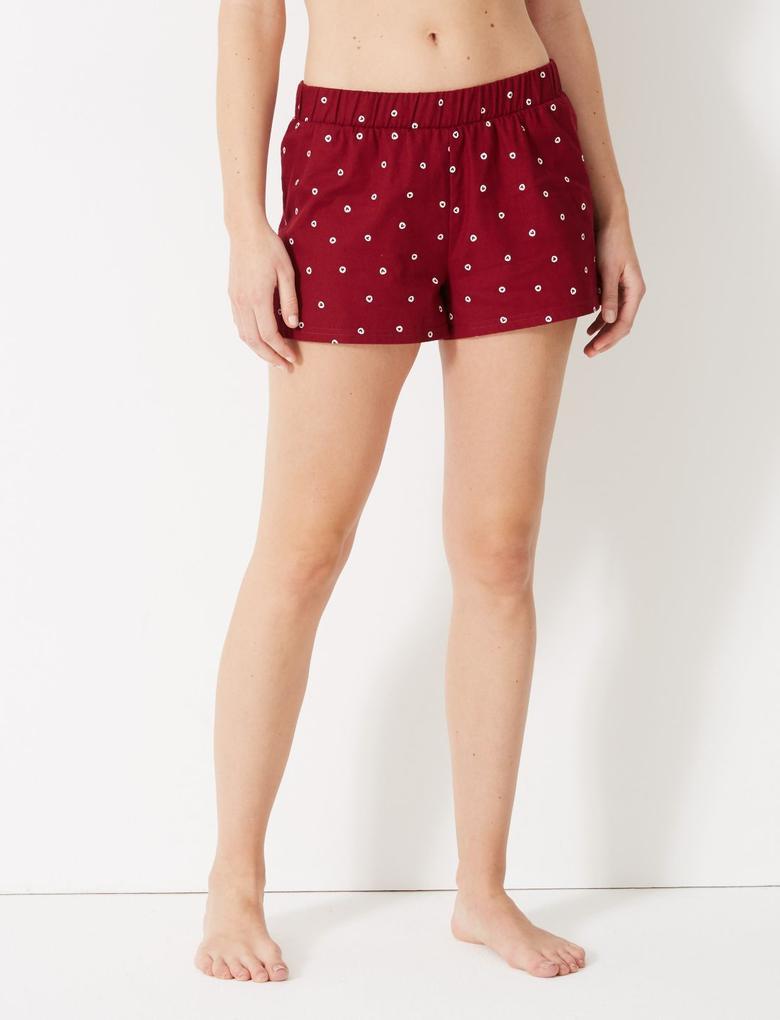 Kadın Desenli Pijama Takımı