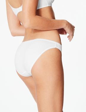 5'li Pamuklu Bikini Külot (Yeni ve Geliştirilmiş Kumaş)