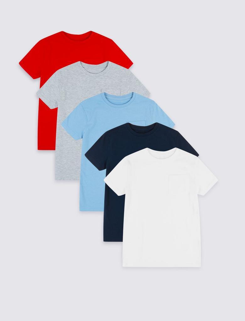 5'li T-Shirt Seti