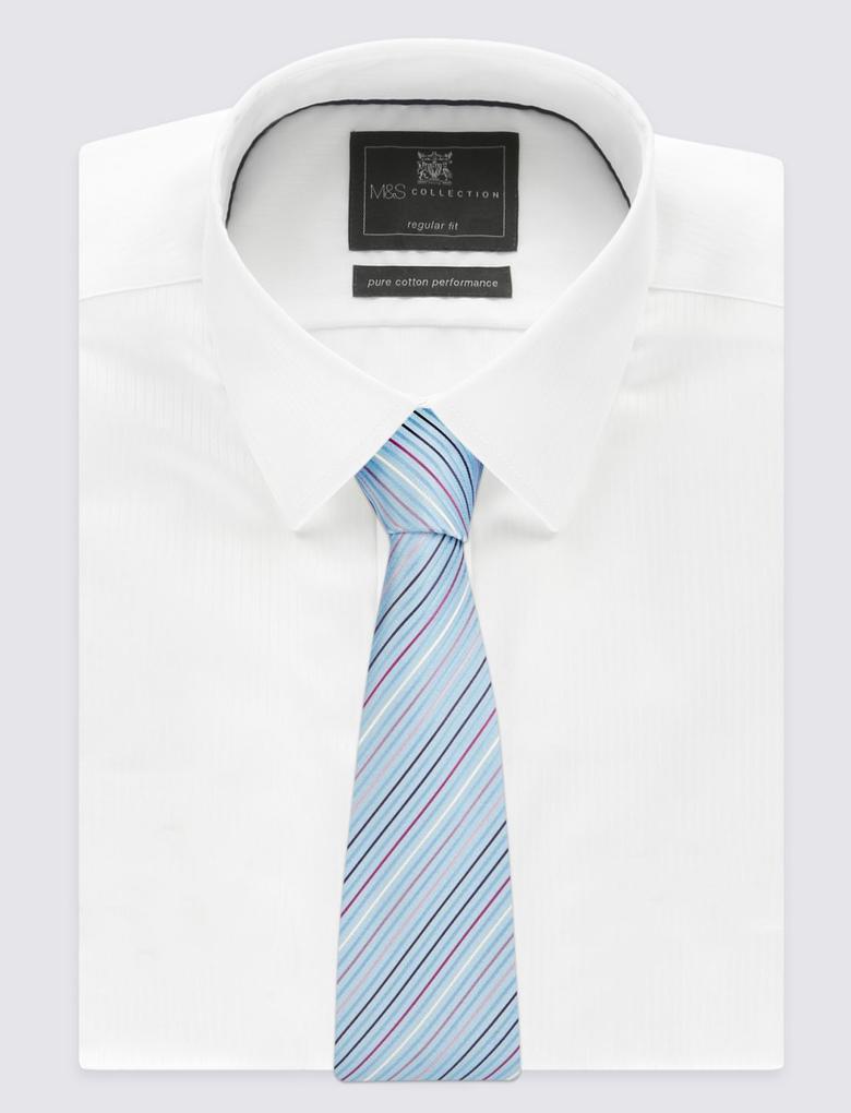 Çizgi Desenli Kravat