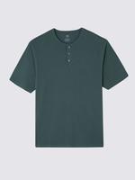 Regular Fit Saf Pamuklu Sıfır Yaka T-Shirt