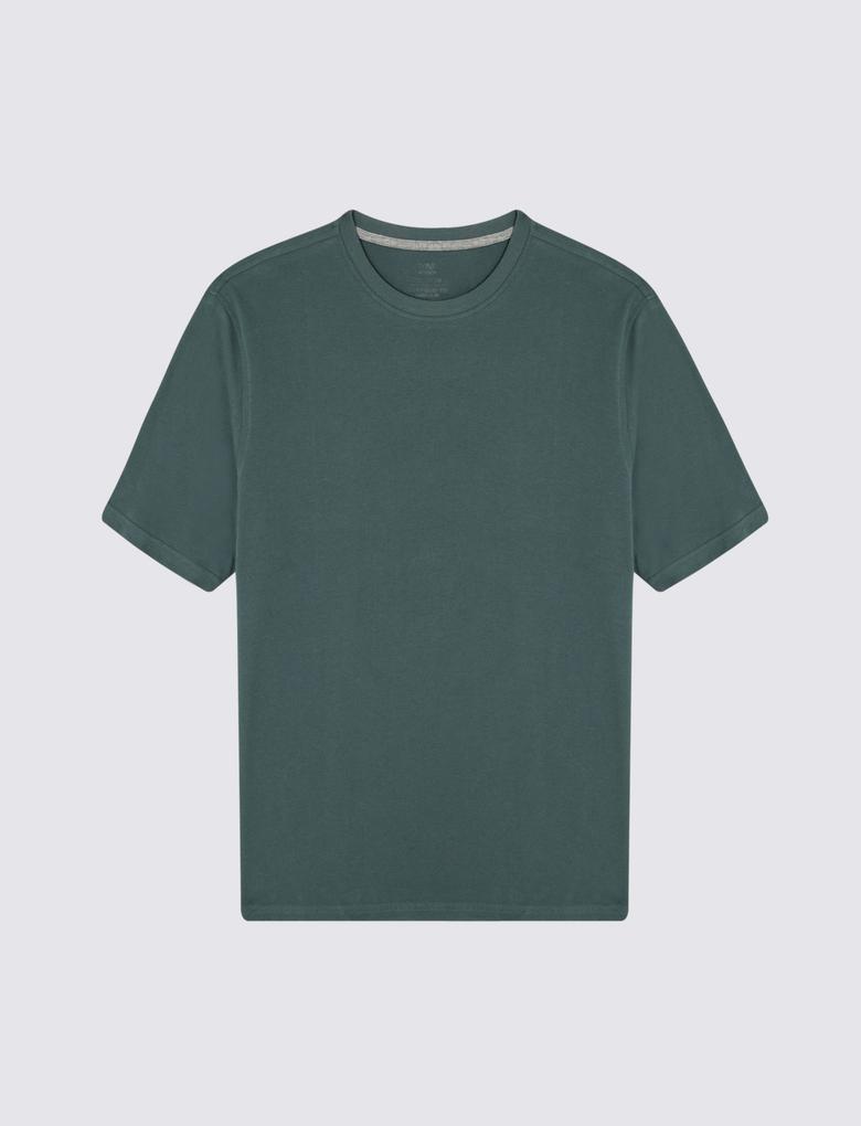 Saf Pamuklu T-Shirt (Cool Comfort™  Teknolojisi ile)