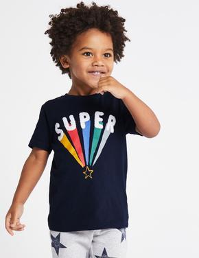 Saf Pamuklu Super T-Shirt