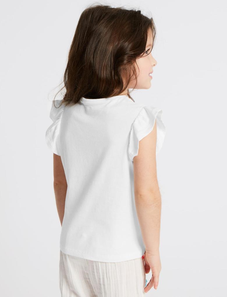 Multi Renk 5'li Tukan Kuşu Desenli T-Shirt Seti