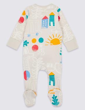 2'li Saf Pamuklu Pijama