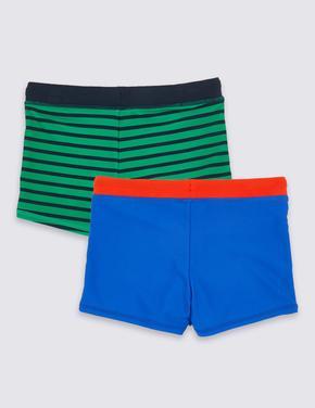 Erkek Çocuk Multi Renk 2'li UPF50 Korumalı Mayo Şort