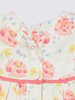 2 Parça Çiçekli Elbise ve Şort Takımı