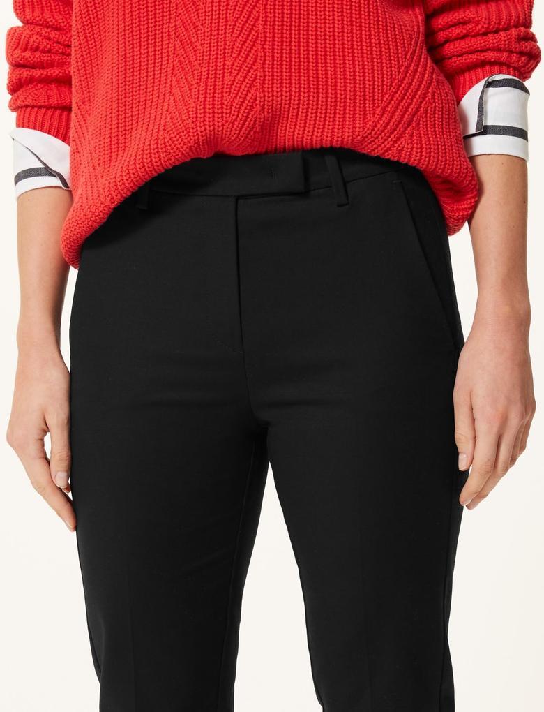Pamuklu Slim 7/8 Pantolon
