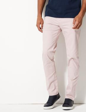 Slim Fit Pamuklu Chino Pantolon