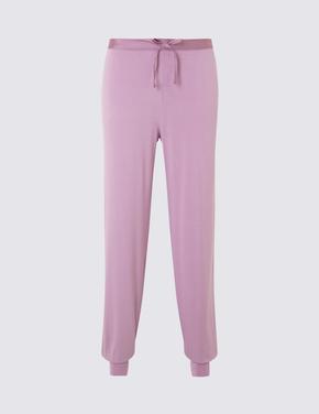 Bilekleri Lastikli Pijama Altı