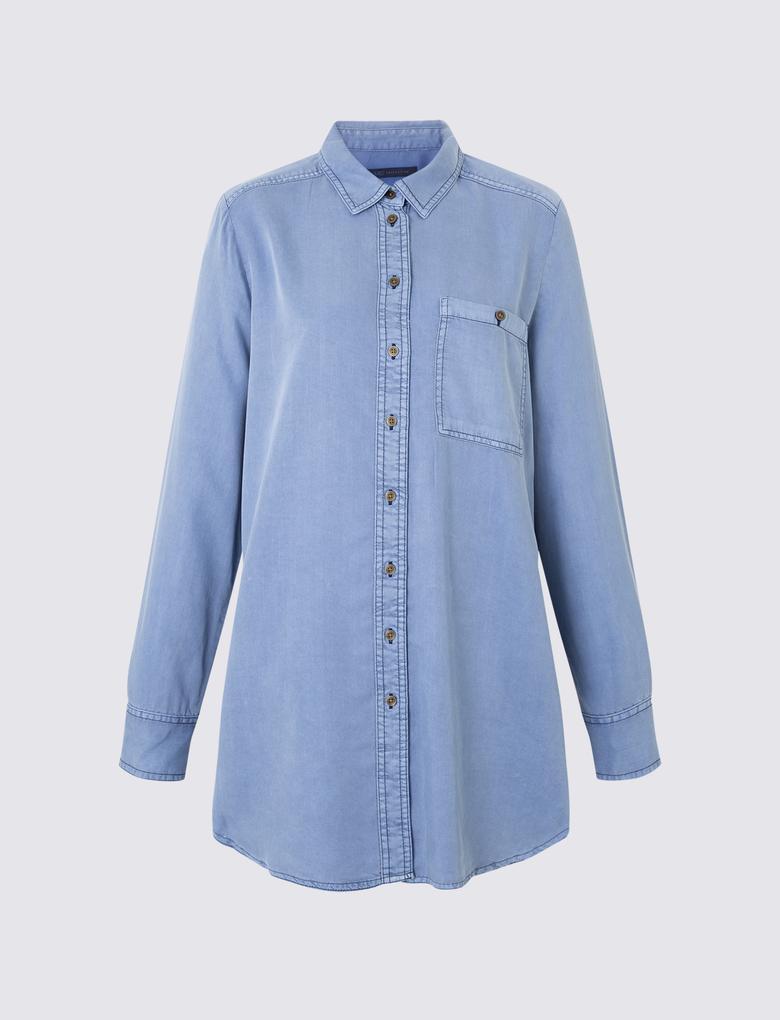 Uzun Tencel™ Gömlek