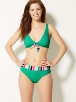 Balensiz Plunge Bikini Üstü