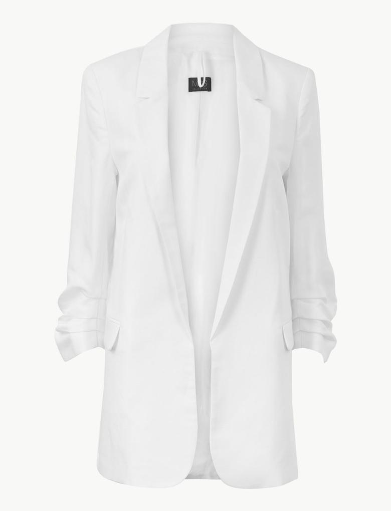 Önü Açık Blazer Ceket