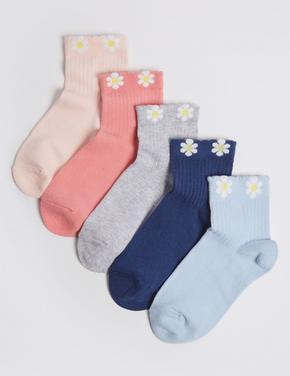 5'li Desenli Çorap Seti (Freshfeet™ Teknolojisi ile)