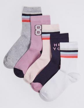5'li Spor Çorap Seti (Freshfeet™ Teknolojisi ile)