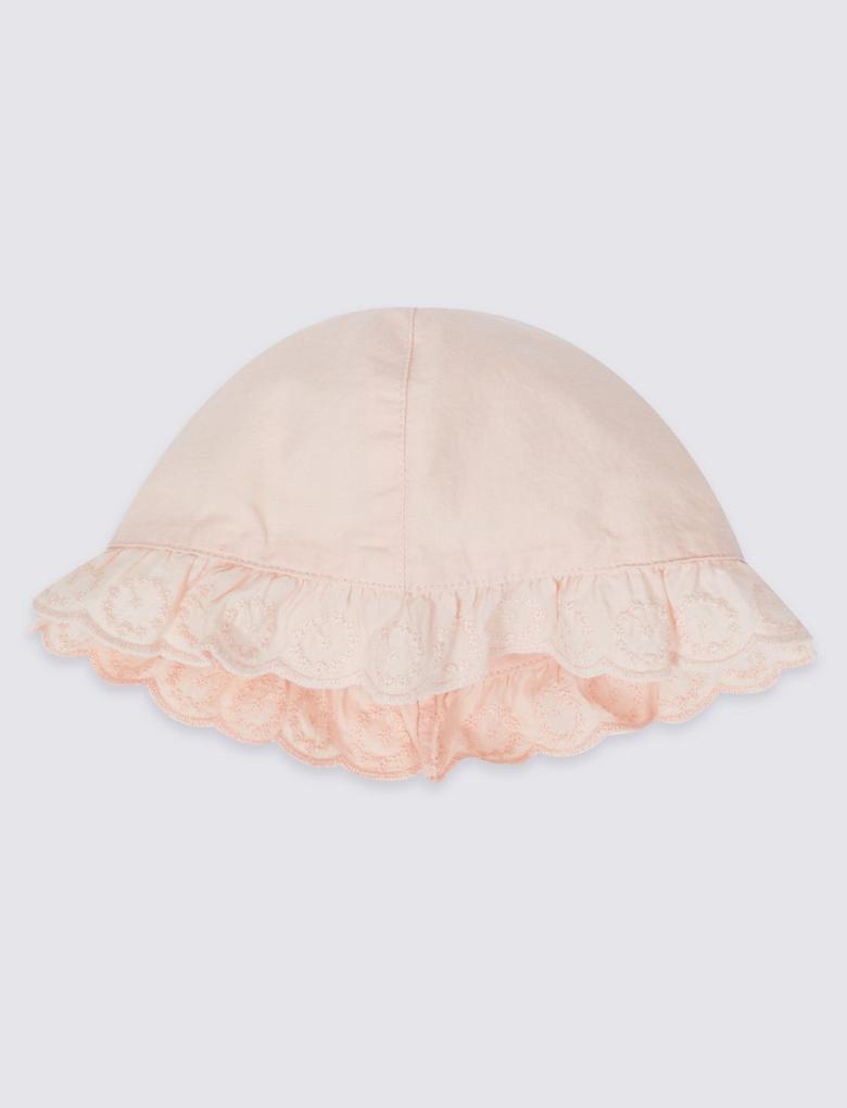 2 Parça Elbise ve Şapka Takımı