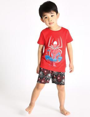 Spiderman Desenli Pijama Takımı