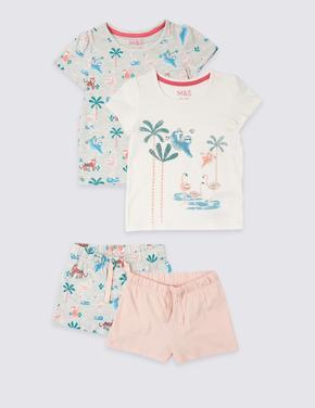 2'li Şort Pijama Takımı