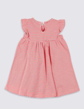 Organik Pamuklu Streç Elbise