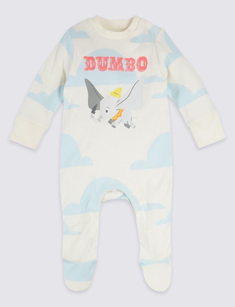 2'li Disney Characters Dumbo Pijama Seti