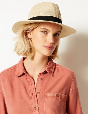 Klasik Hasır Şapka