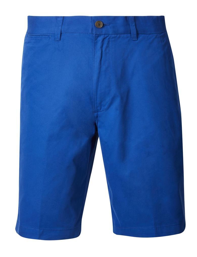 Mavi Hafif Kumaşlı Chino Şort