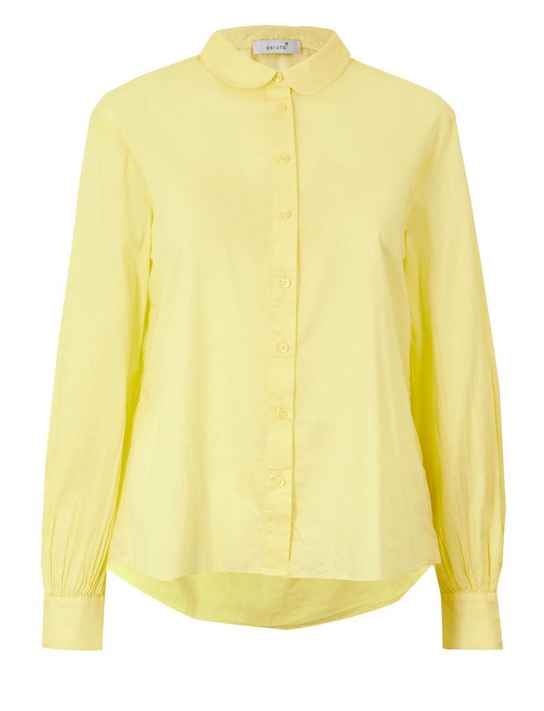 Saf Pamuklu Uzun Kollu Gömlek