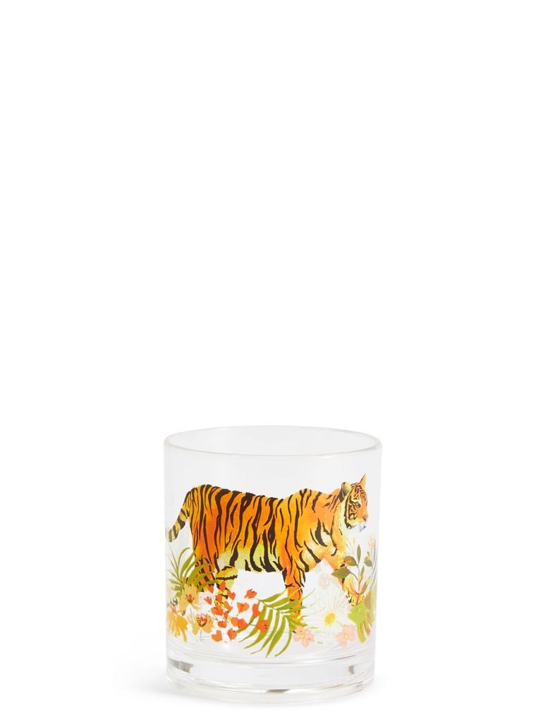 Multi Renk Sun-baked Kaplan Desenli Su Bardağı