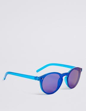 Erkek Çocuk Mavi Yüksek Korumalı Güneş Gözlüğü