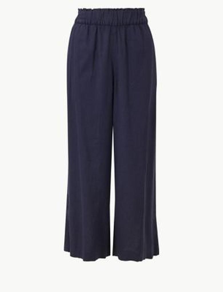 Wide Leg Kısa Pantolon