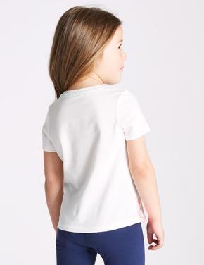 Saf Pamuklu Denizanası T-Shirt