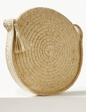 Hasır Çapraz Çanta
