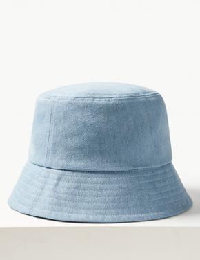 Saf Pamuklu Şapka