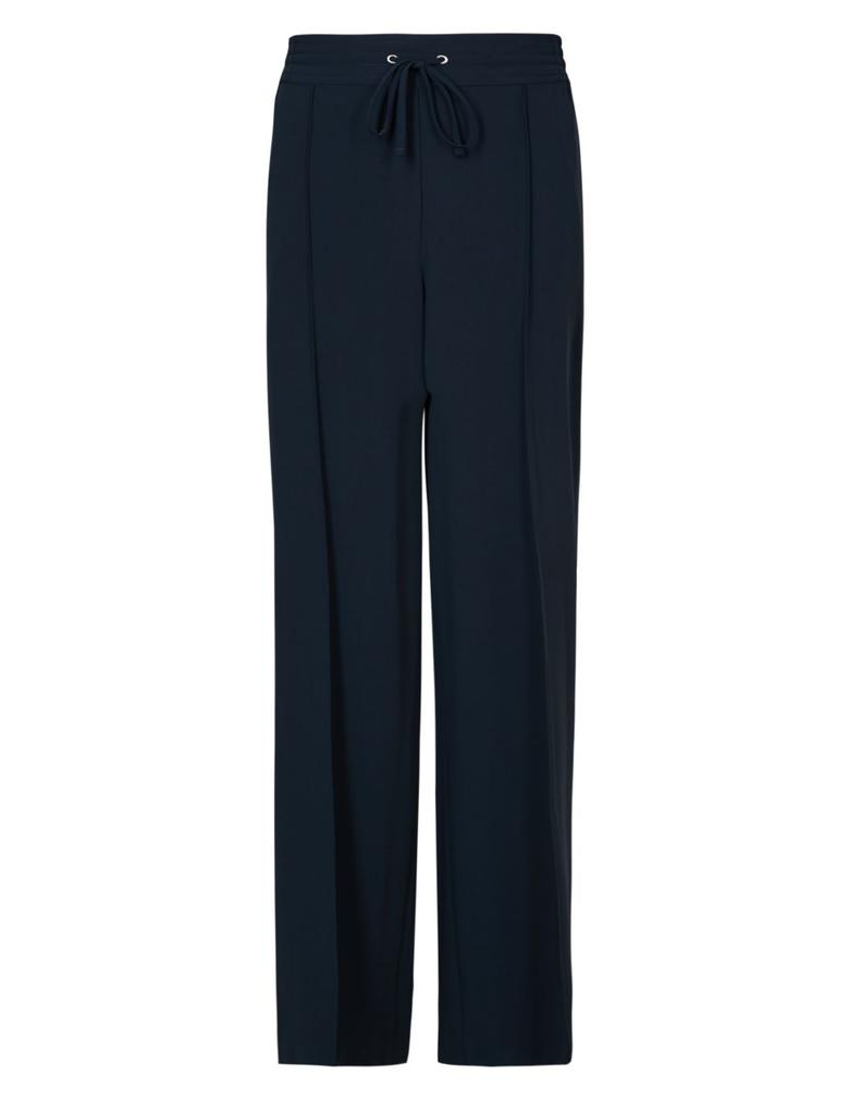 Lacivert Geniş Paçalı Pantolon