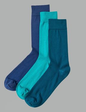 3'lü Paket Modal Karışımlı Çorap