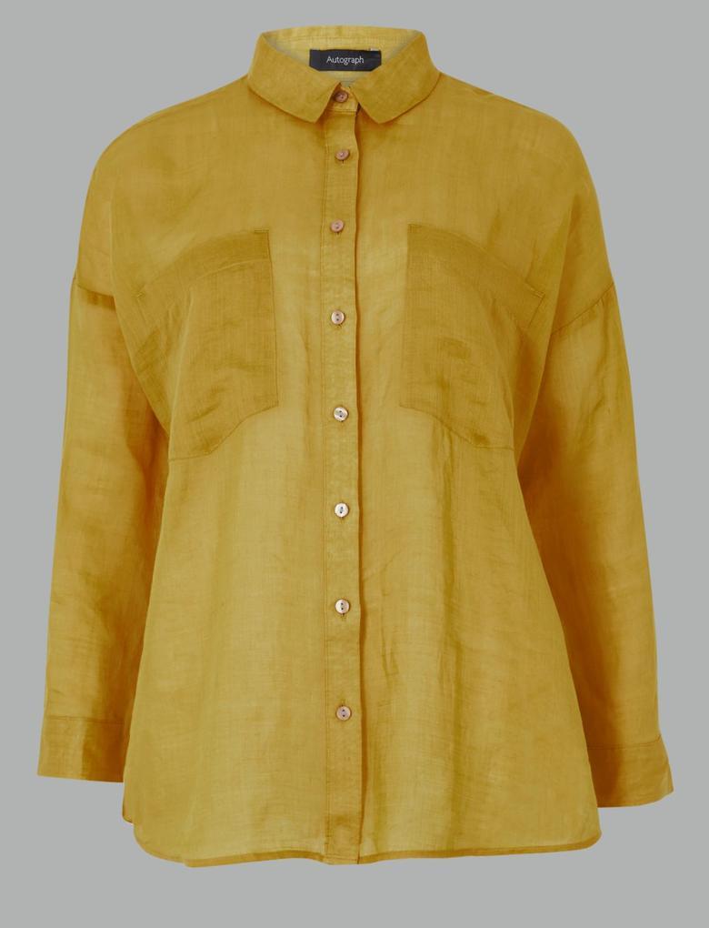 Cepli Uzun Kollu Gömlek