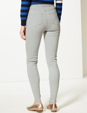 Yüksek Belli Super Skinny Jean