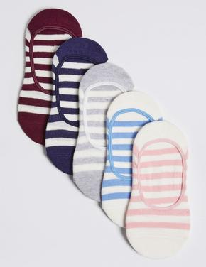 5'li Çizgili Spor Çorap Seti