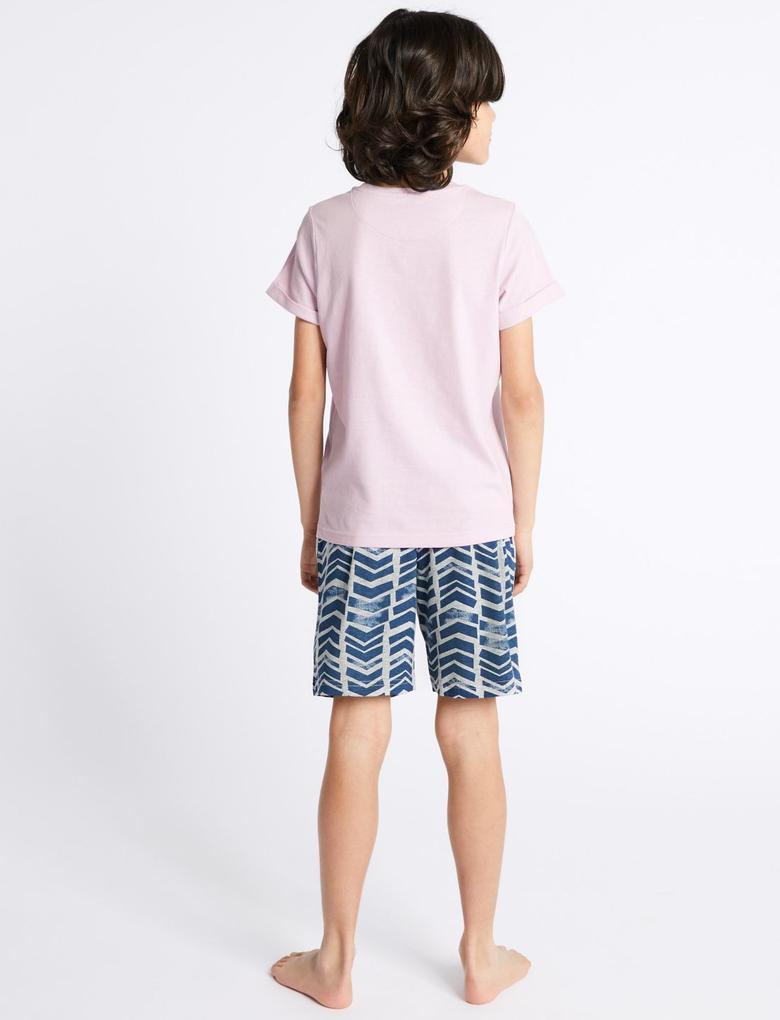 2'li Şortlu Pijama Takımı