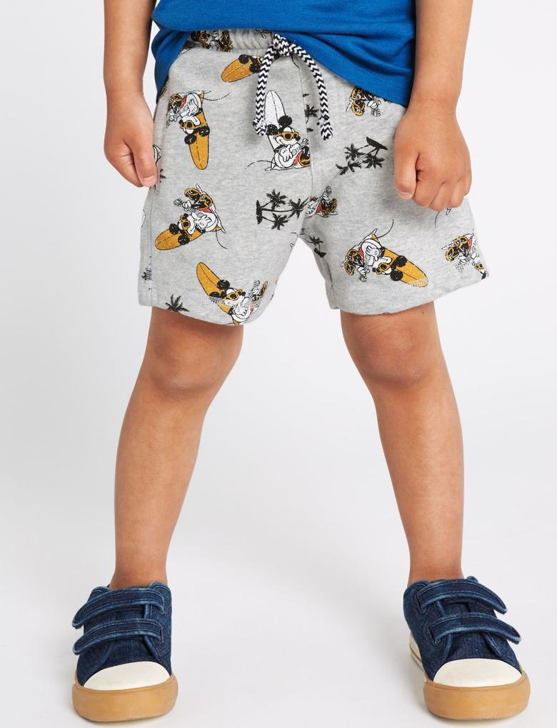 Mickey Mouse Şort T-shirt Takımı