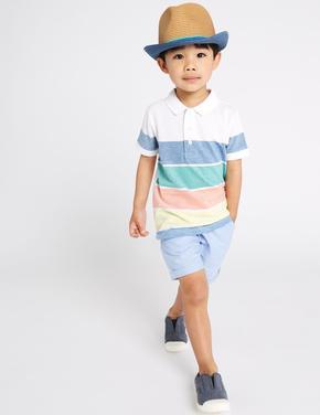 Şort Polo T-shirt Takımı