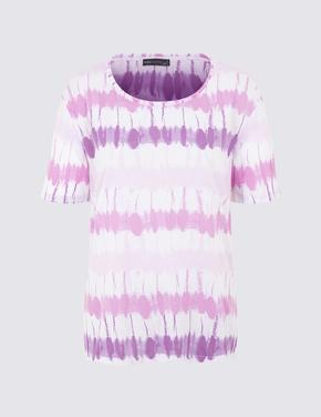 Batik Desenli T-Shirt