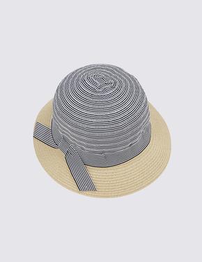 Kadın Lacivert Kloş Şapka
