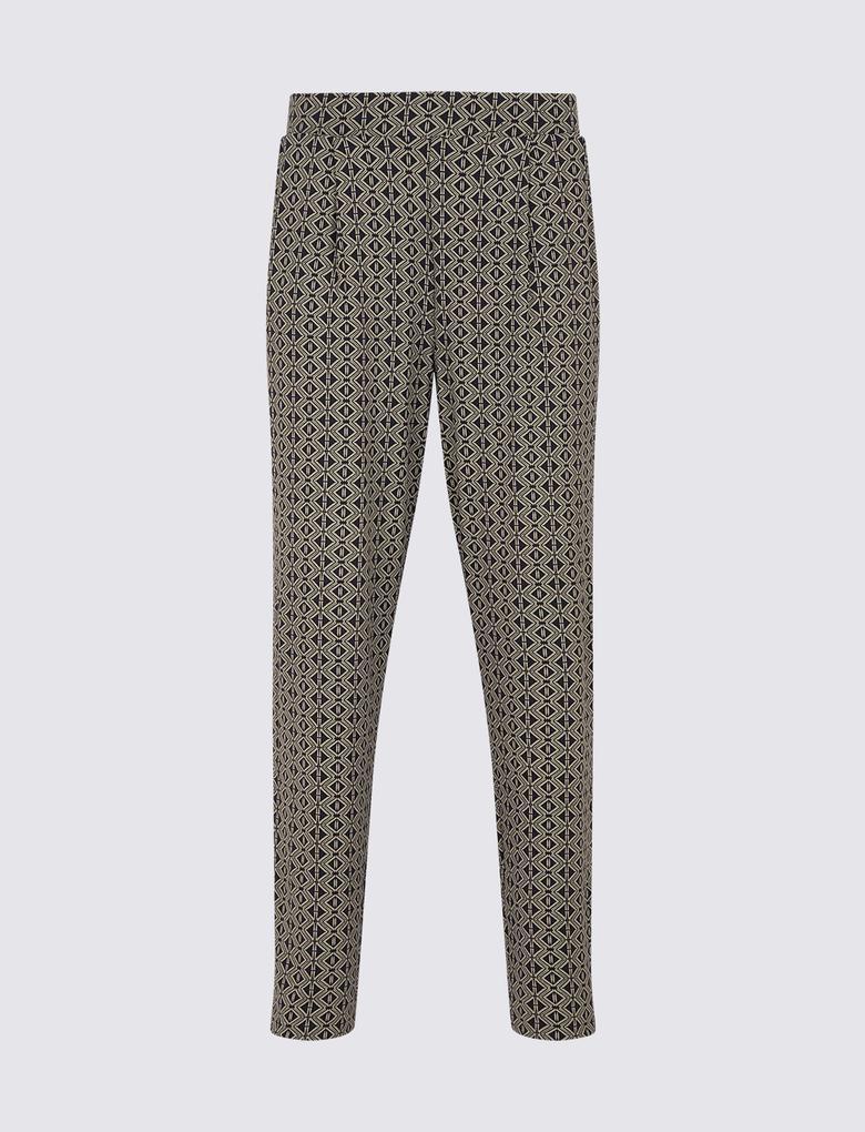 Kadın Lacivert Grazer Peg Pantolon