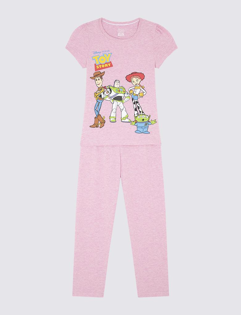 Pamuklu Toy Story Pijama Takımı
