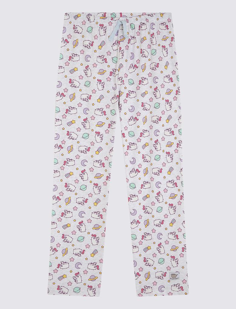 Saf Pamuklu Pijama Takımı